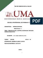 Informe de Farmaconogsia