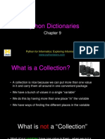 Py4Inf 09 Dictionaries
