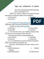 QUIZ-Politics and Governance