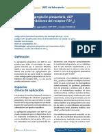 ABC Agregacion Plaquetaria p2y12