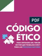 Código Ético Para Entidades Del Tercer Sector Que Trabajan Con y Para Las Personas Mayores