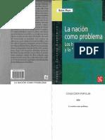 Palti, Elias. - La nacion como problema. Los historiadores y la cuestion nacional [2003] [2006].pdf