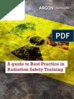 Argon Radiation Safety Training eBook