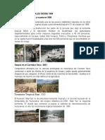 Desastres Naturales Desde 1998