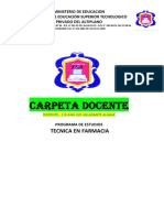 CARPETA DOCENTE