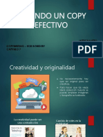 COPYWRITING Cap 7 Creando Un Copy Efectivo