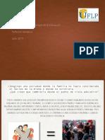 REFLEXIÓN TEMATICA Sociedad, Familia y Objetivos de La Educación
