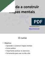 Aprenda a construir mapas mentais