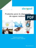 DERYPOL Catalogo Polimeros Tratamiento Aguas