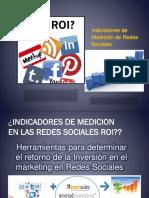 Indicadores de Medicion en Las Redes Sociales