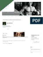 Intermediate and Advanced Training Program - MY WORK FİTNESS