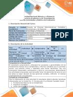 Guía Actividades y Rúbrica Evaluación Tarea 4 Adquirir Información Unidad N 3 Fundamentos Contables.