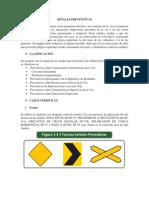 Señales Verticales Preventivas e Informativas