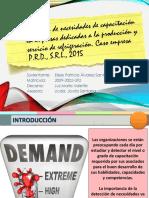 Detección Necesidades de Capacitación en Empresas Que Ofrecen Servicios de Refrigeración-caso Empresa Paneles Dominicanos- Elssie Patricia Alvarez Santos