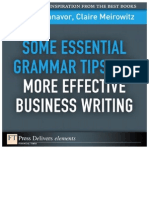 Some Essential Grammar Tips for More Effective Business Writ