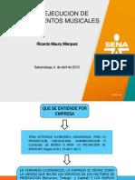 Empresa y Cultura Organizacional(1)