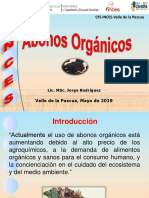 Clase Abonos Organicos Mayo 2019