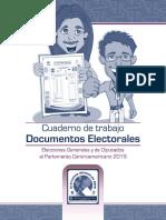 Manejo de Actas y Documentos, Cuaderno de Trabajo para JRV, TSE Guatemala