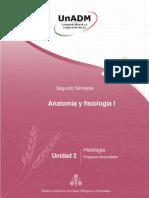 AFI1_U2_260718 Anatomía y Fisiología I