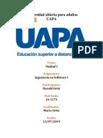 Ingenieria Software 1-  Sistemas estratégicos  UAPA