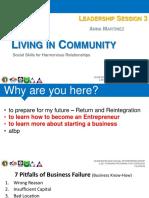 LSE Leadership Session 3 (Living in Community-- Strengthening Social Skills).pdf
