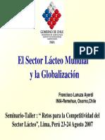 El Sector Lacteo Mundial y La Globalizacion