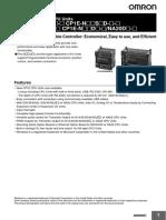 Datasheet PLC CP1E.pdf