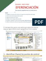 Tema 1 Georeferenciación 1