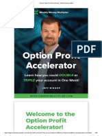 eBook Option Profit Accelerator - Weekly Money Maker
