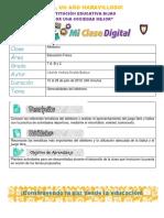 FORMATO DE CLASES BIJAO(15 al 26 de Julio 2019 ) - Edufisica 7°