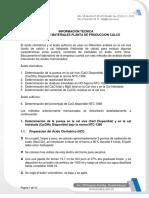 07 Balance de Materia CALCO 9 Información Técnica CCITE