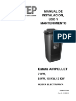 Manual estufa Airpellet