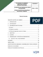 Plan Maestro Gestion Del Riesgo de Desastres