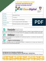 FORMATO DE CLASES BIJAO(2 al 12 de Julio 2019 ) - Edufisica 7°