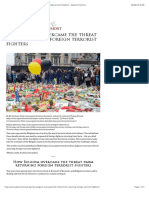 How Belgium Overcame the Threat From Returning Foreign Terrorist Fighters - Egmont Institute