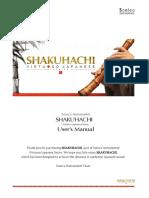 Shakuhachi user's manual