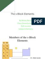 S-Block Element.ppt