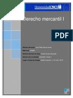 Derecho Mercantil I Actividad 1