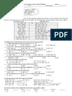 8 Test Factoring