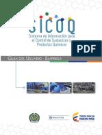 Res. 0001-2015 Estupefacientes Guía Del Usuario Empresa Sicoq