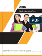 AIBE Sample Paper