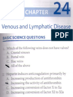 Venous and Lymphatics MCQ