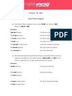 Grammar Basic Aula 1B