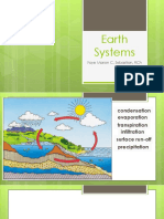 3.1 Earth Systems