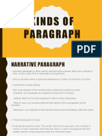 Kinds of Paragraph First - Copy