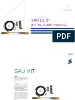 Alarm Installation With SAU02