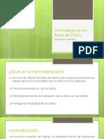 Normalización en Base de Datos UTP PANAMA