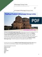 Whatsappgrouplink.org-Madhya Pradesh Whatsapp Group Links