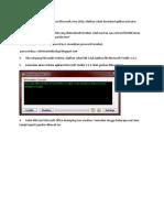 Penggunaan Office ToolKit 2.