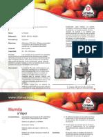 Ficha técnica de Marmitas